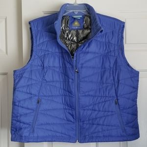 Columbia Vest Women's Size 3X Blue Omni-Heat